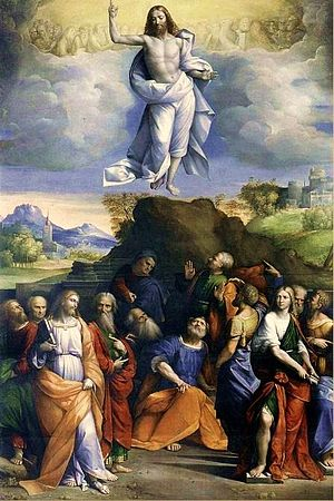 English: Ascension of Christ