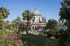MOUNT OF BEATITUDES CHAPEL AND GARDEN