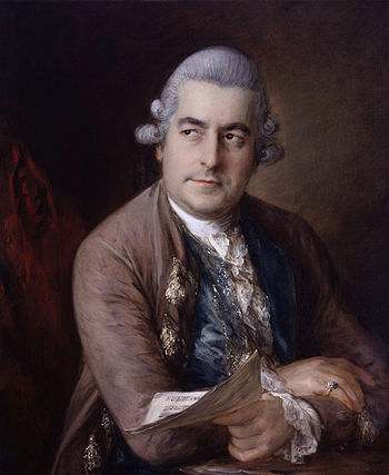 Johann Christian Bach, painted in London by Th...