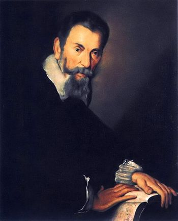 Copy of a portrait of Claudio Monteverdi by Be...