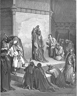 David Mourns the Death of Absalom (2Sam. 18:33...