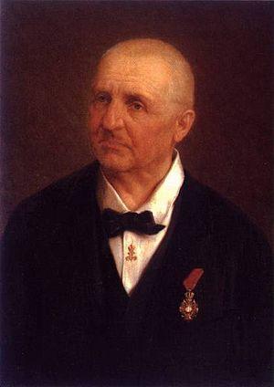 Portrait by Josef Büche (Austrian, 1848-1918) ...