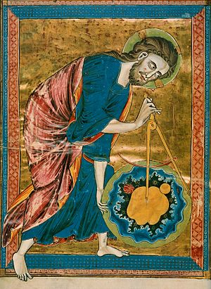 God as Architect/Geometer, from the frontispie...