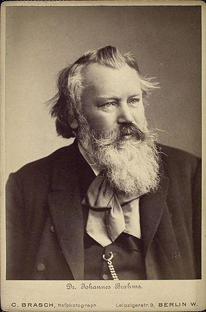 English: Johannes Brahms (1833–1897), German c...