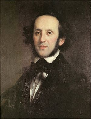 English: Felix Mendelssohn Bartholdy, portrait...