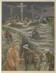 My God My God why hast thou forsaken me (Eli Eli lama sabactani), by James Tissot (Image via Wikipedia)