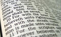 Romans 10:9-10 KJV