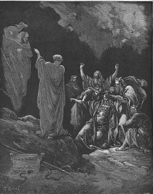 English: Saul and the Witch of Endor (1Sam. 28...