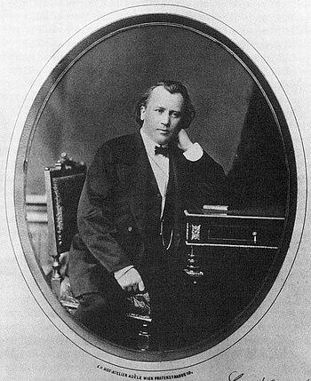 English: Johannes Brahms (1833-1897), german c...