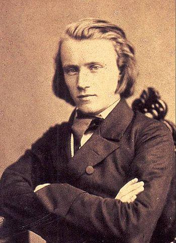 Brahms in 1853