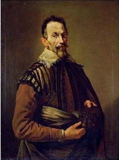 Claudio Monteverdi (1567-1643), composer - (Im...