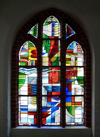 Kirchenfenster LOBGESANG nach dem Psalm 145 in...