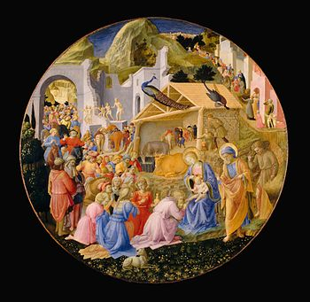 Adoration of the Magi by Fra Angelico and Fili...