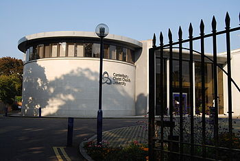 English: Canterbury Christ Church University O...