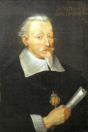 Heinrich Schütz, c. 1650-1660 (Leipzig), by Ch...