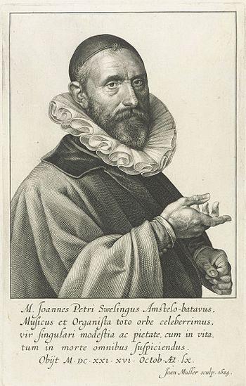 Jan Pieterszoon Sweelinck, Kupferstich von J. ...