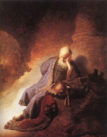 """Jeremiah Lamenting the Destruction of Je..."
