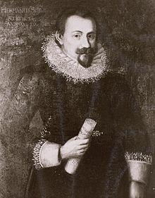 Johann Hermann Schein im Jahre 1620